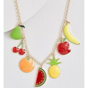 Brand new ModCloth fruit necklace 🍌